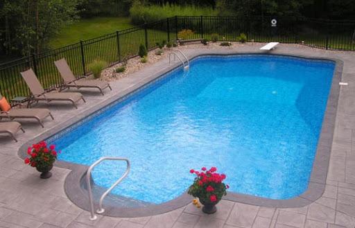 having a swimming pool